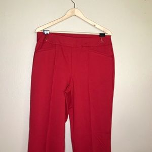 Professional Red Pants
